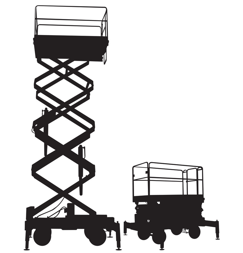 Push-able Scissor Lift